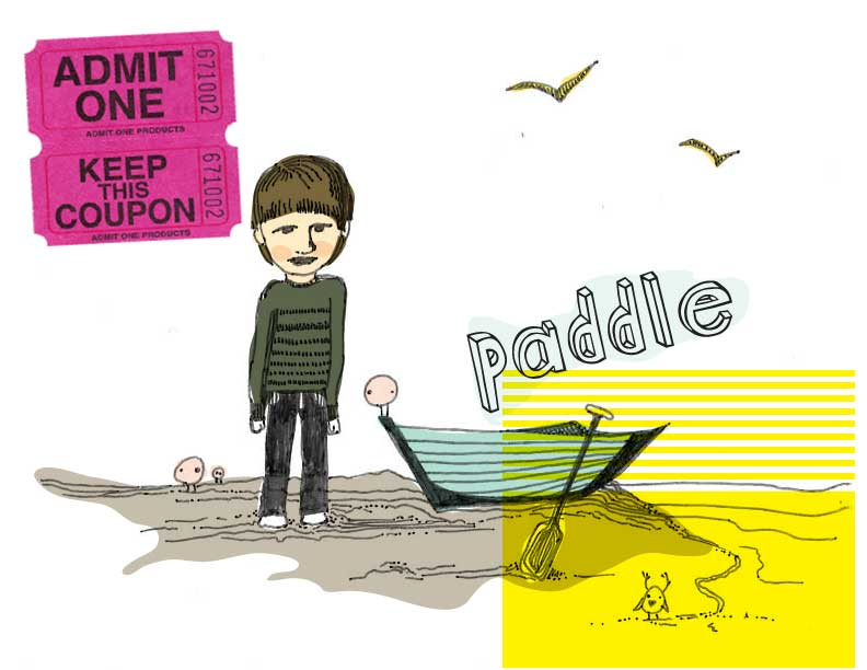 Admit One, Paddle Boat